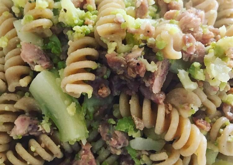 Fusilli broccoletti&salsiccia