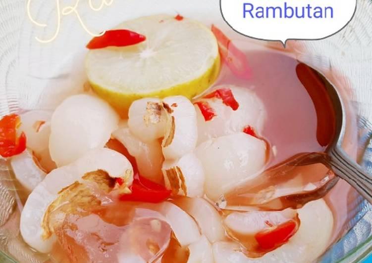 Asinan Rambutan