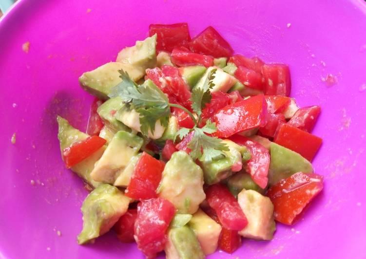 Avocado Tomato Salad#SaladContest