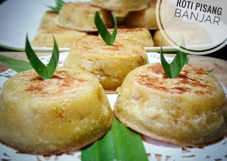 17. Roti pisang banjar (versi oven) #BikinRamadanBerkesan