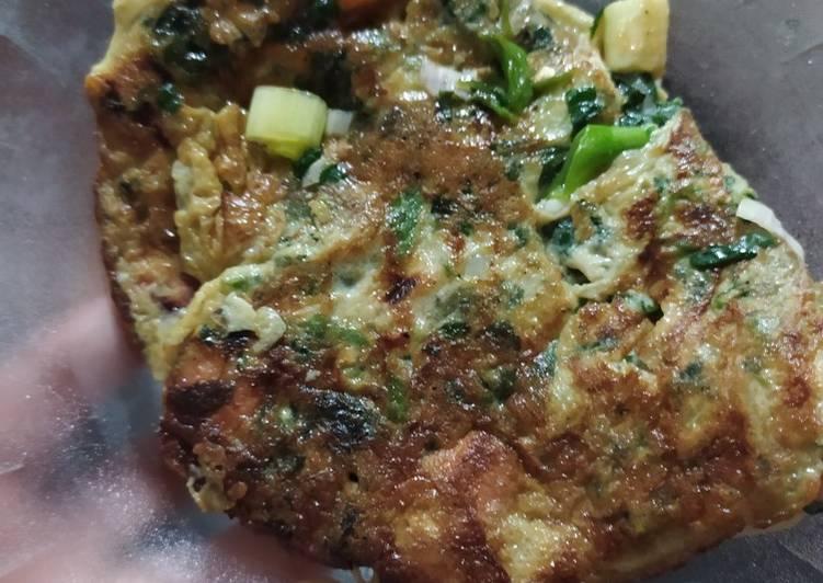 Omelet sayur sehat untuk diet bisa banget