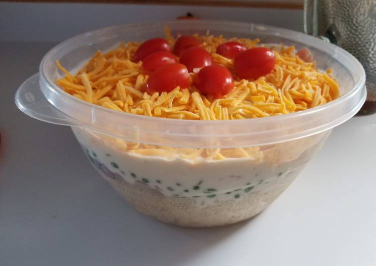 Easiest Way to Prepare Appetizing Layered Pasta Salad