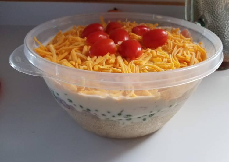 How to Prepare Yummy Layered Pasta Salad