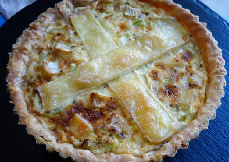 Recipe of Perfect Leek & Brie Tart