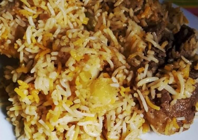 Recipe of Perfect Mutton Biriyani