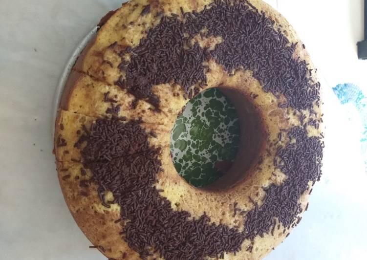 Kue Zebra Coklat