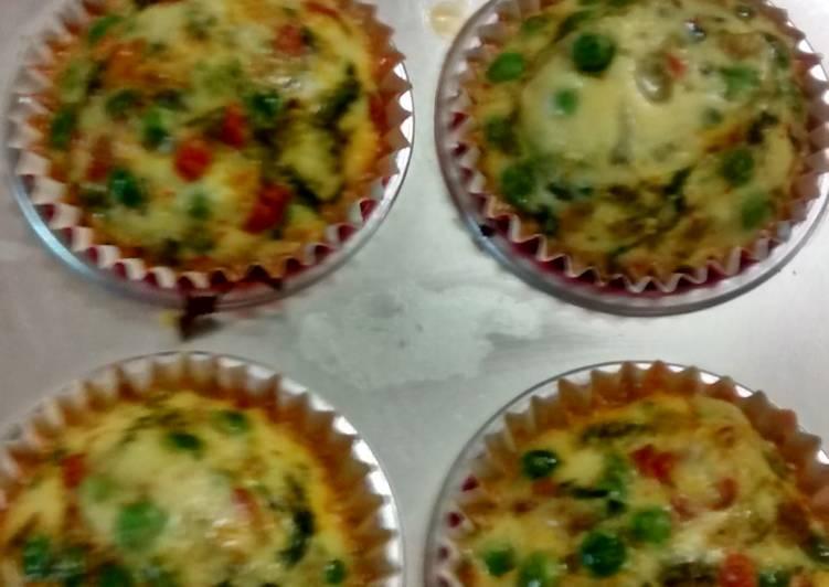 Healthy Vegetable cupcakes