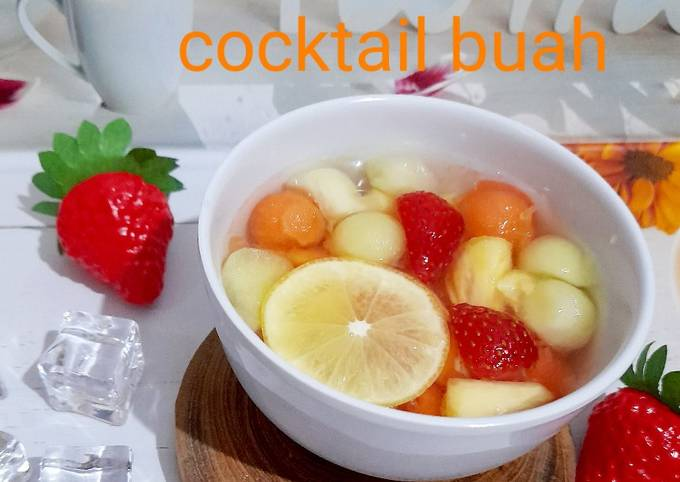 Cooktail buah soda