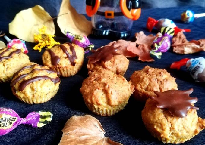 Muffin butternut miel et noisette