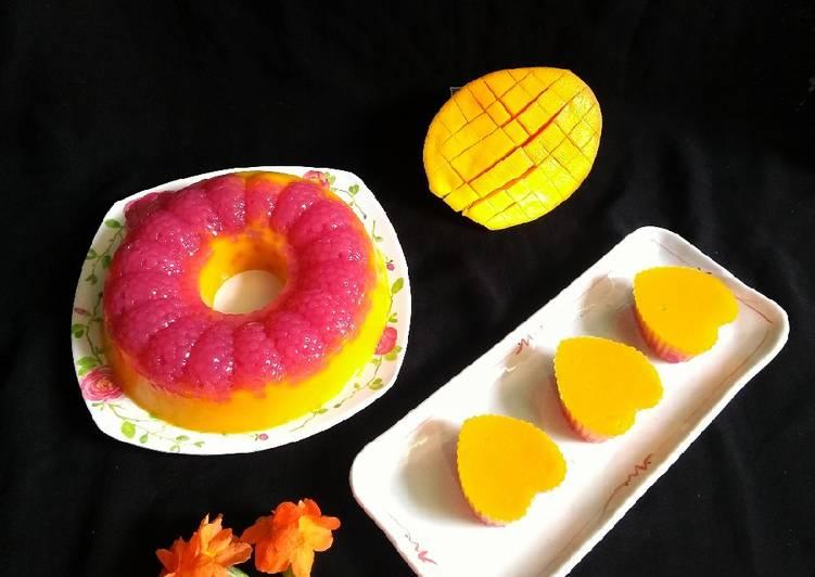Puding Mangga Sagu Mutiara