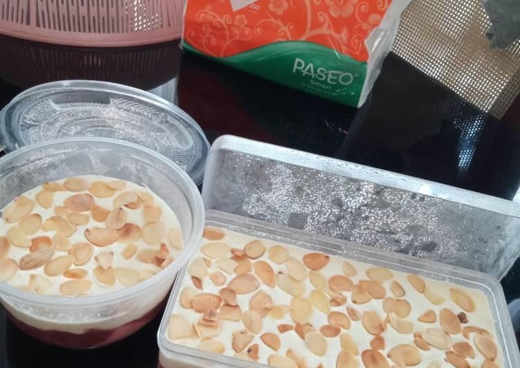 Keto Cheese cake strawberry 🍰🍓 unbaked