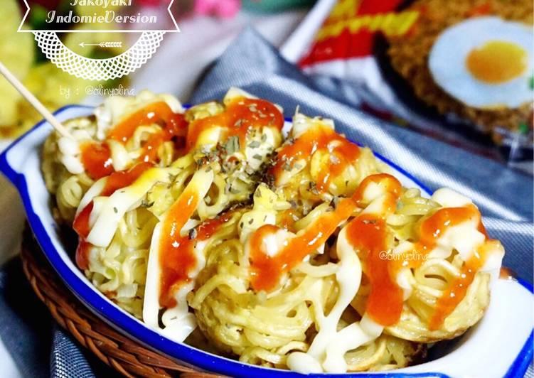 Resep Takoyaki Indomie Oleh Olinyolina Cookpad