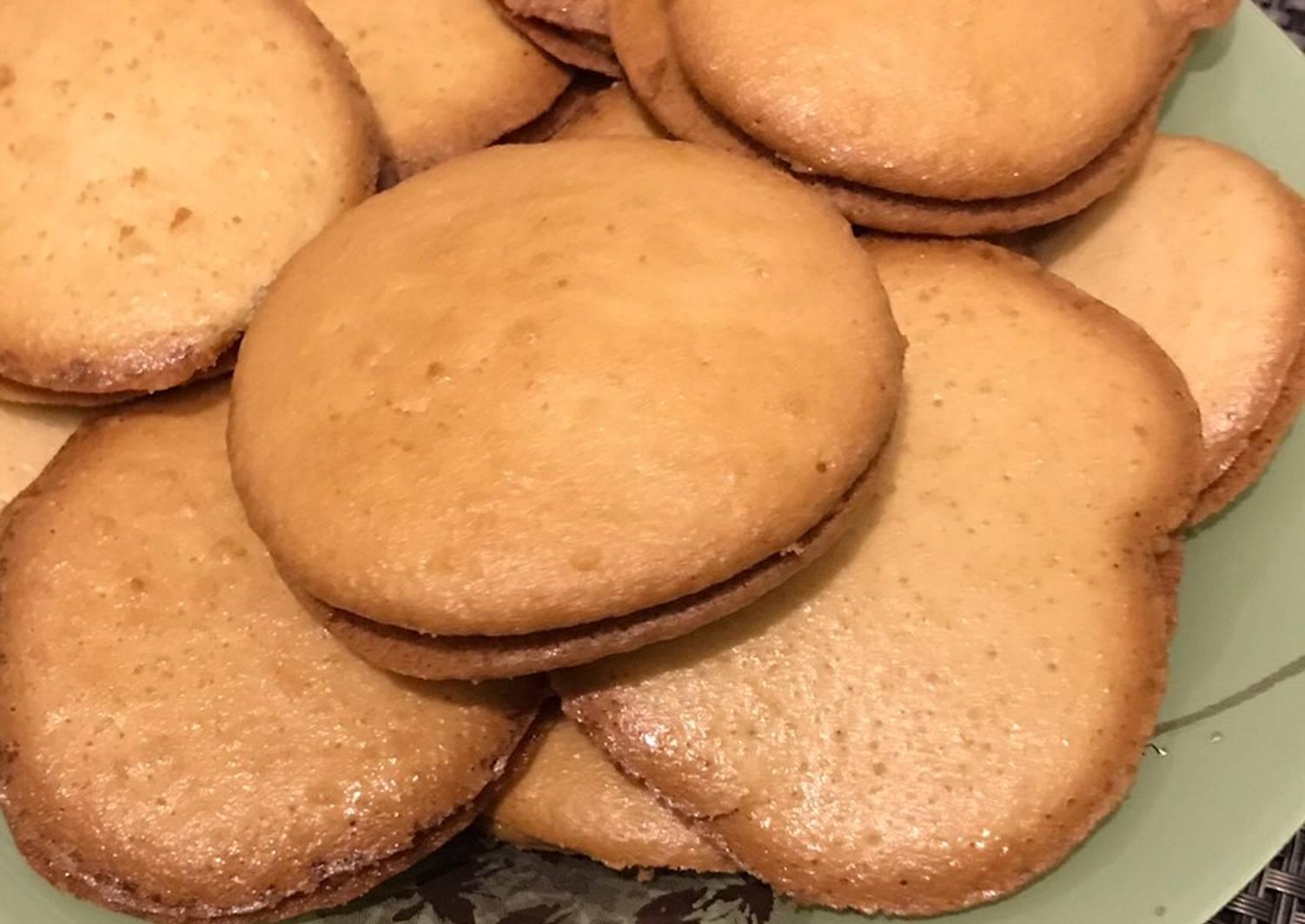 бисквитное печенье рецепт с фото пошагово так