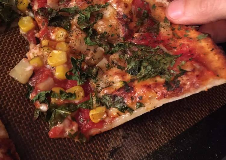 Low fat yeast free pizza dough FAST