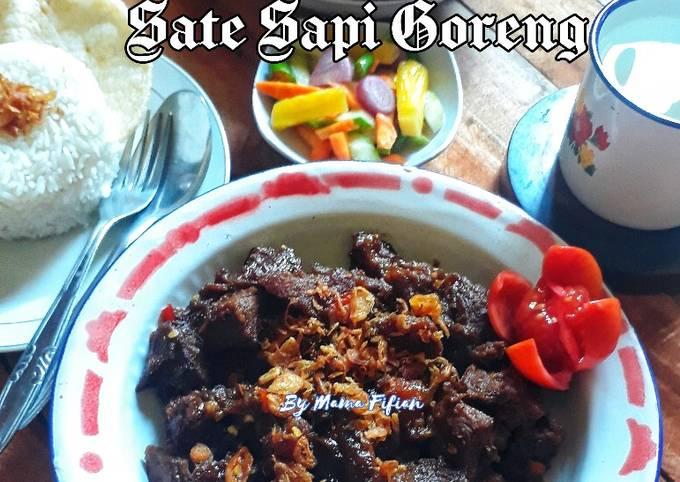 Sate Sapi Goreng - projectfootsteps.org