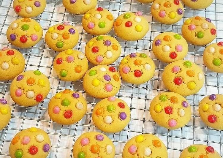 Condensed Milk Cookies (Chewy Cookies) Source : @farahquinnofici