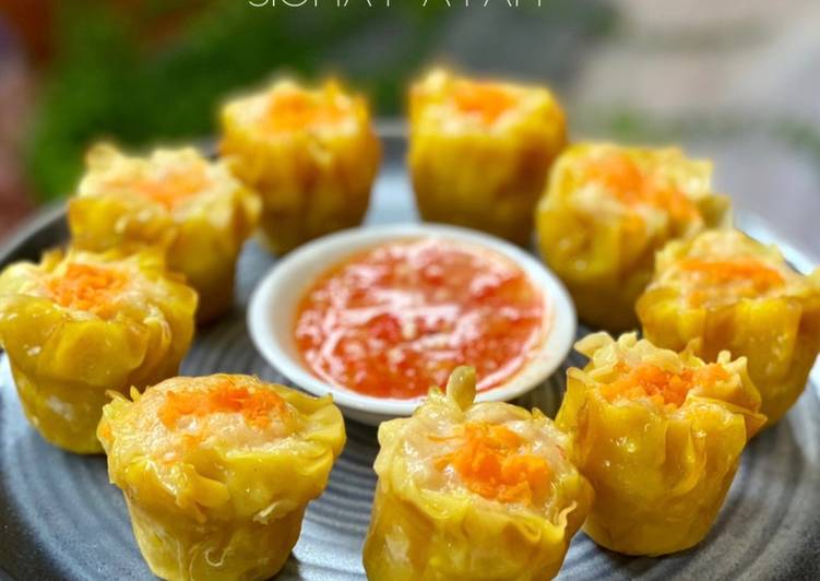 Recipe of Any-night-of-the-week Chicken Siew Mai