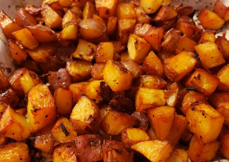 Recipe: Appetizing Oven Roasted Potatoes