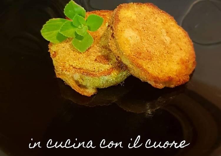 Ricetta Cordon blue di zucchine tonde ♡