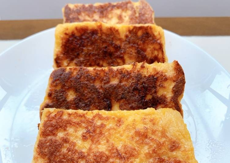 Japanese style french toast
