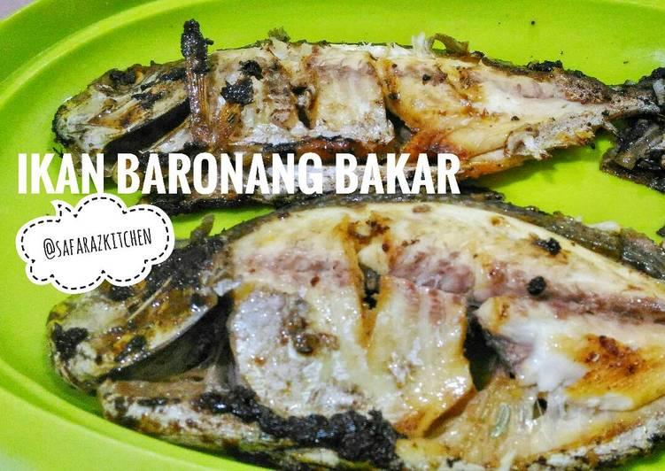 Ikan Baronang Bakar - simpel, mudah, enaak 👏🍃😘🐟
