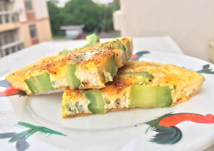 Easiest Way to Make Perfect Bitter Gourd Omelette
