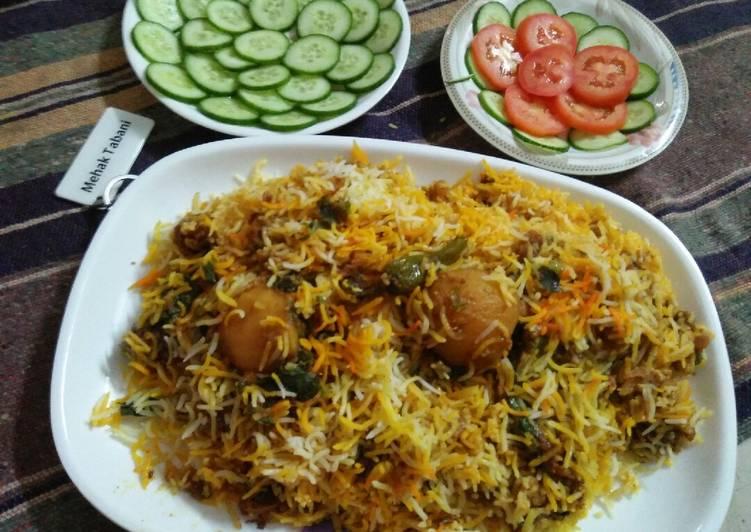 Absolutely Ultimate Dinner Ideas Favorite Qeema biryani