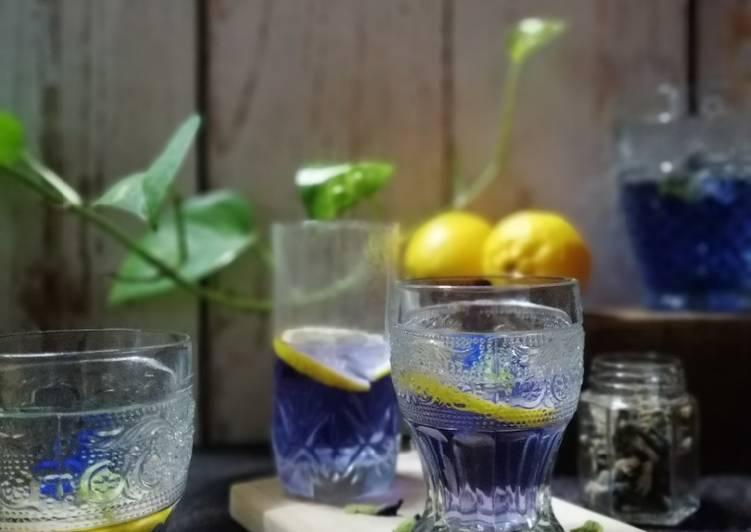 Telang Lemonade - resepipouler.com