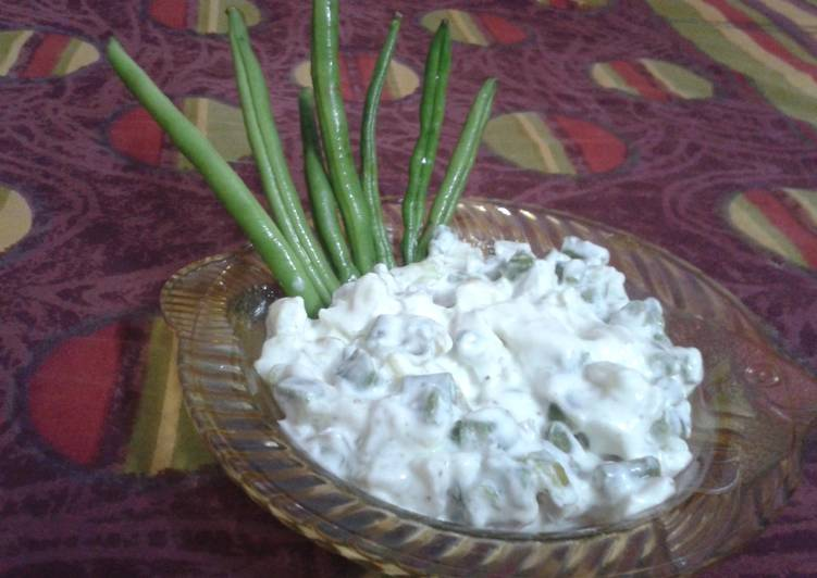 Simple Way to Prepare Quick Frenchbeans salad