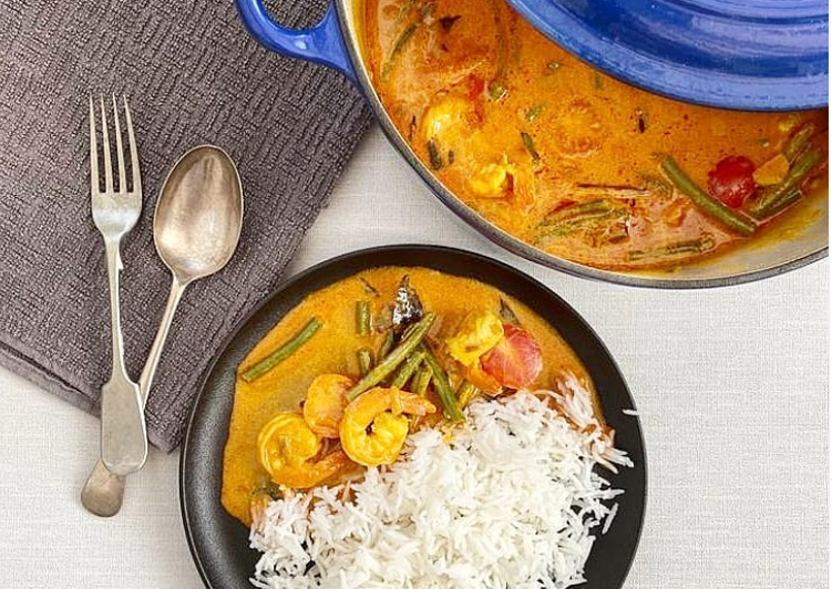 Malabar Prawn Curry Finding Nutritious Fast Food