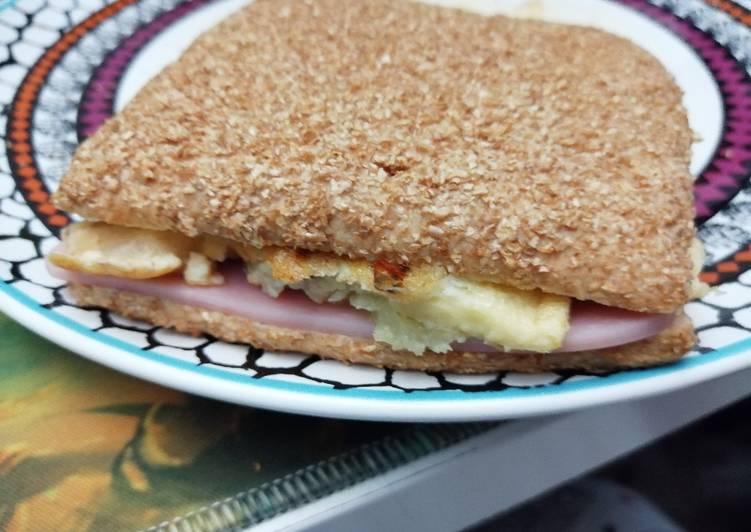 Sándwich de sobras