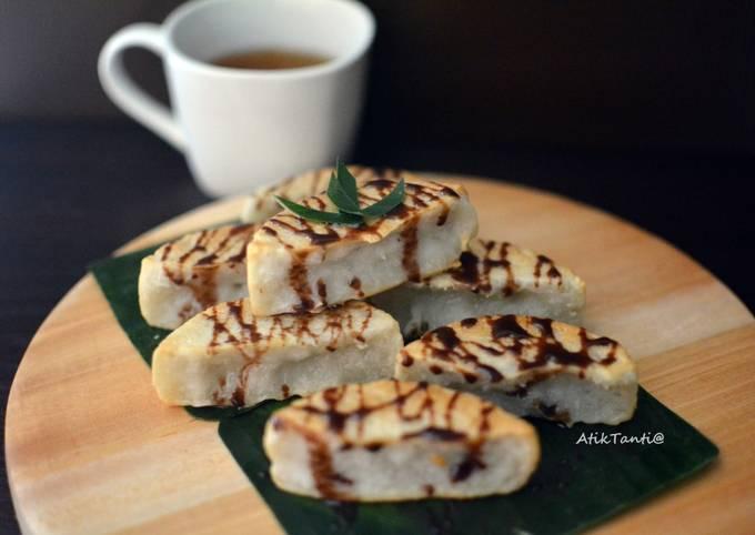 Langkah Mudah untuk Menyiapkan Kue pancong aka Rangin yang Bisa Manjain Lidah