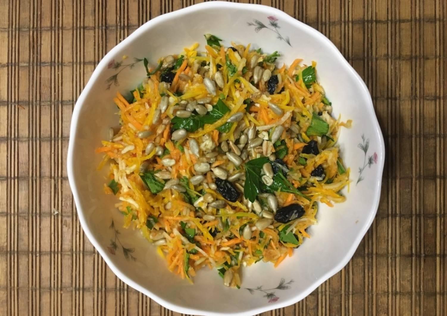 щенки салаты из сырой тыквы рецепты с фото предположение, что изначально