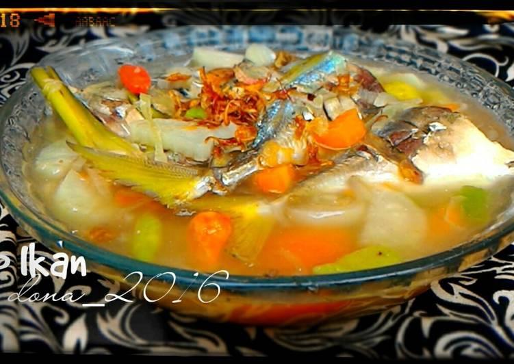 Sup Ikan Laut (Ikan Selar)