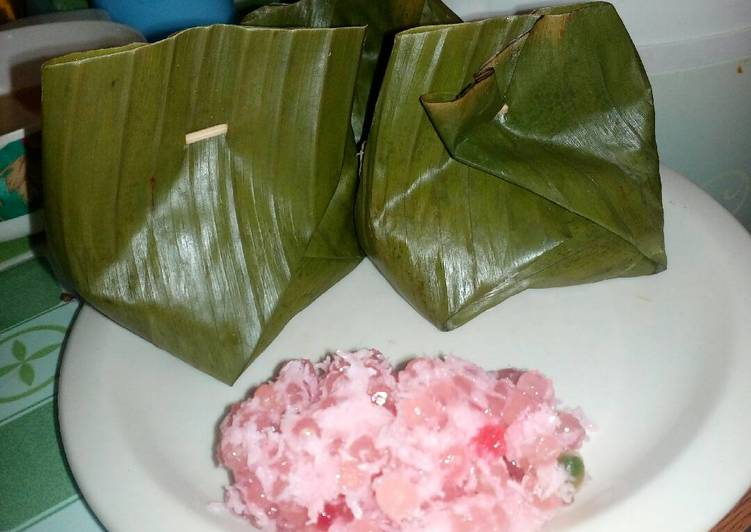 Resep Awug Mutiara Bongko Mutiara Oleh Momy Cilla Cookpad