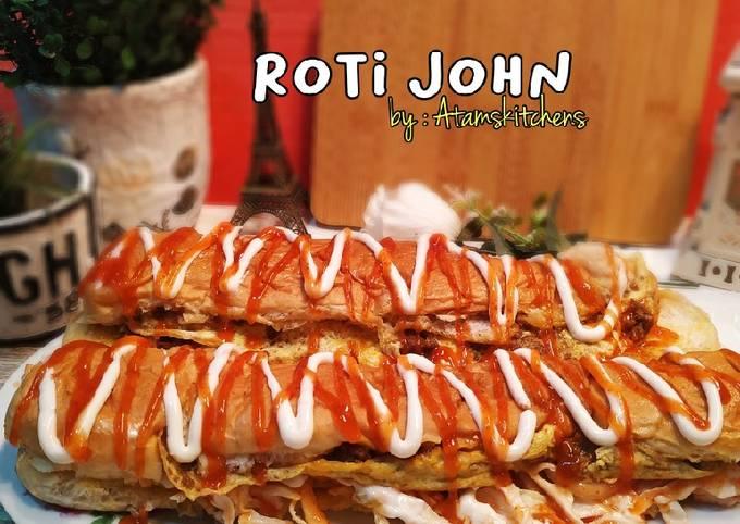 Homemade roti john