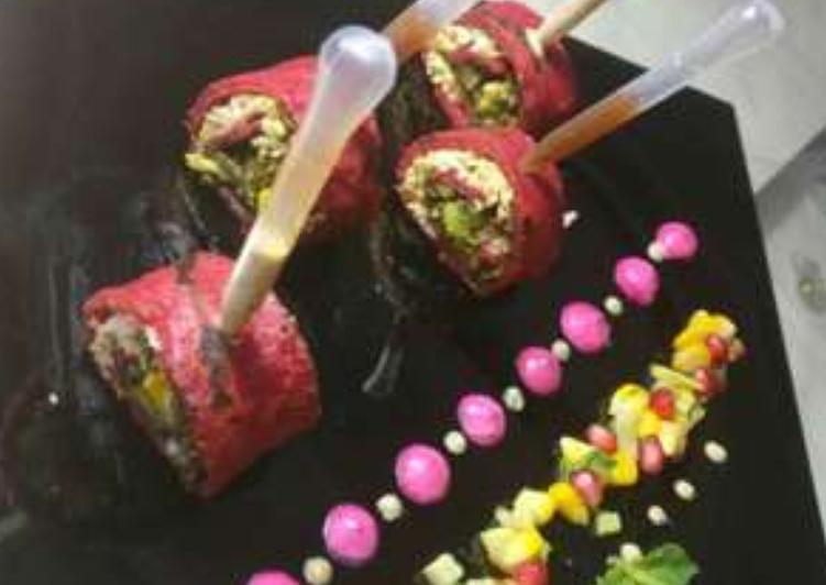 Recipe of Homemade Red velvet roulade