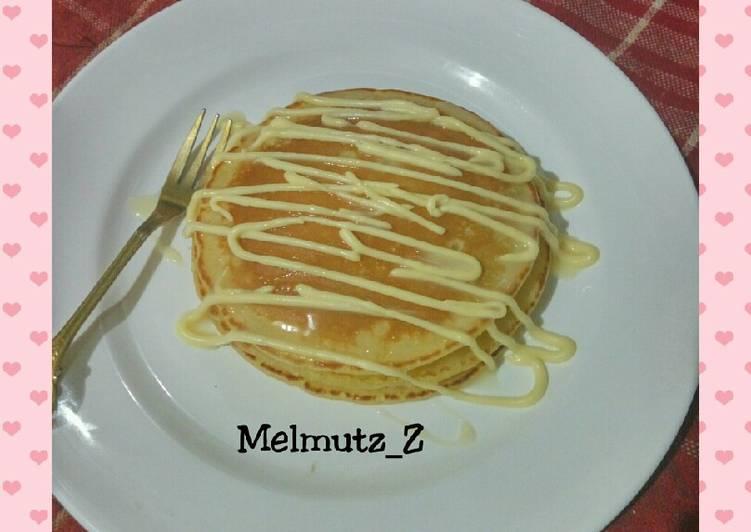 4. Pancake keju susu
