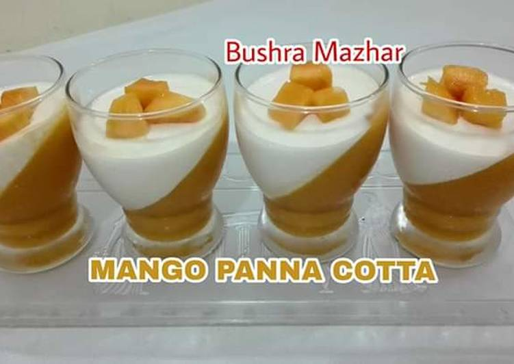 The Foods You Choose To Consume Will Effect Your Health Mango Panna Cotta