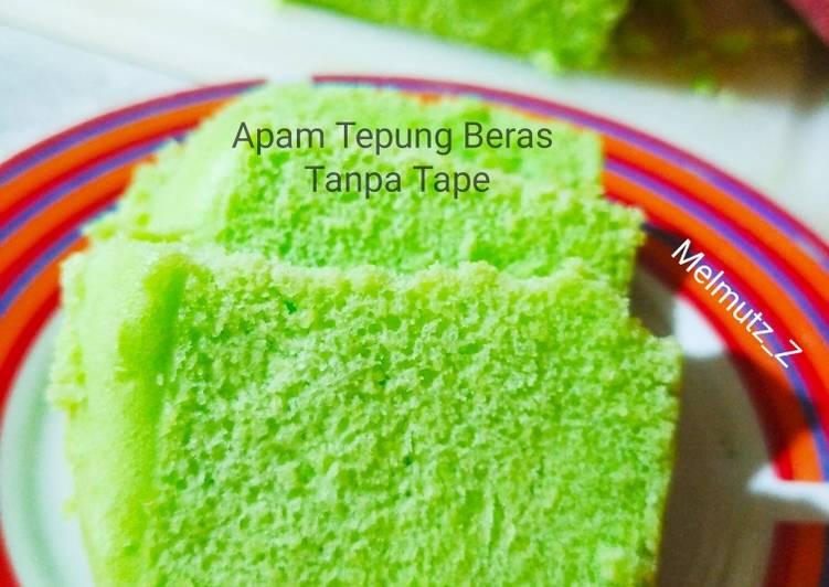 32. Apam Tepung Beras Tanpa Tape - cookandrecipe.com