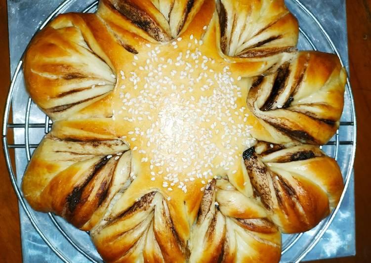 Resep Braided Bread Star Challah Bread Oleh Bunda Giesca Cookpad