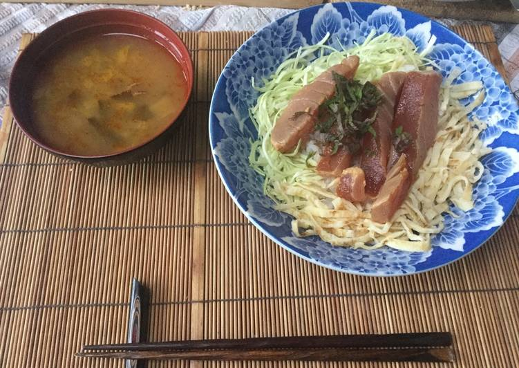 Zuke-Maguro(tuna) donburi (bowl)