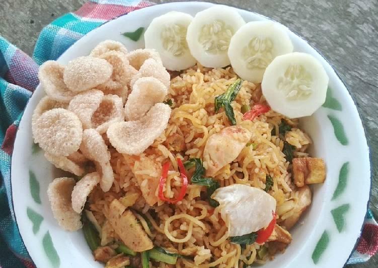 Nasi Mawut Indomie