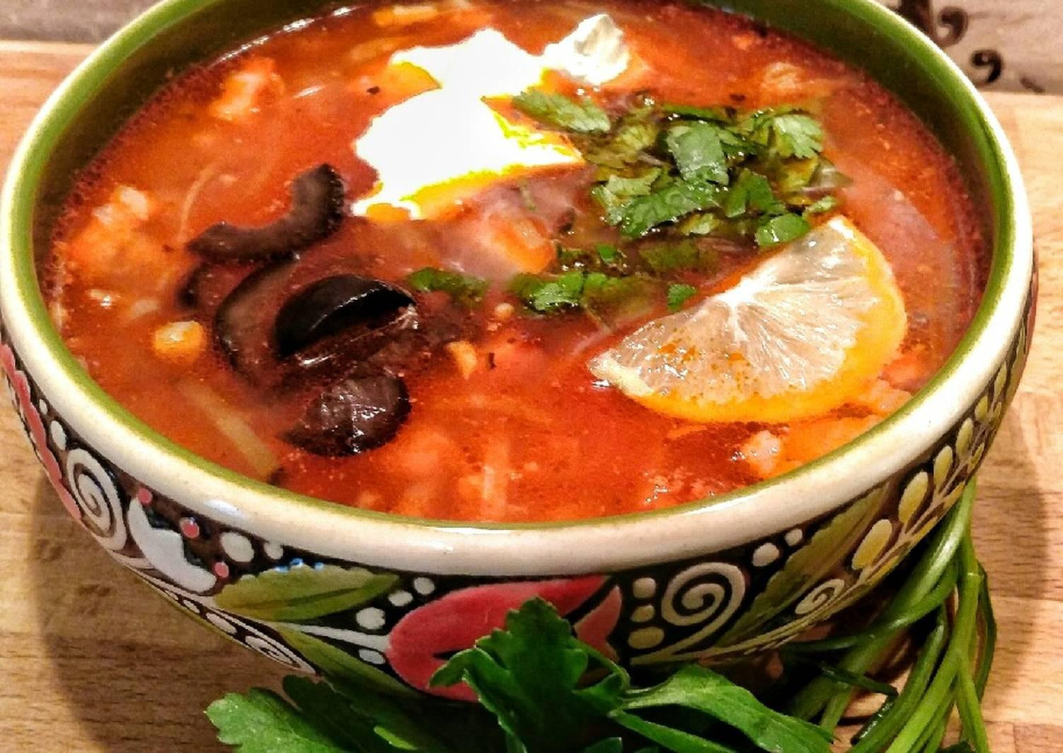 начинающим рекомендую рецепт супа солянка сборная мясная с фото солистка фабрики