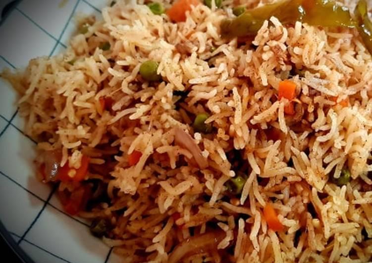 Recipe of Award-winning Peas Carrot Pulav