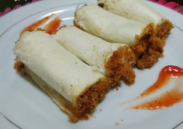Simpel Roti Abon/Meat Floss Bread