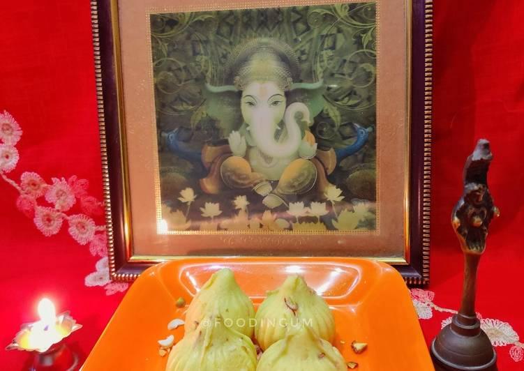 Steps to Prepare Super Quick Homemade Instant Kesar Mawa Modak