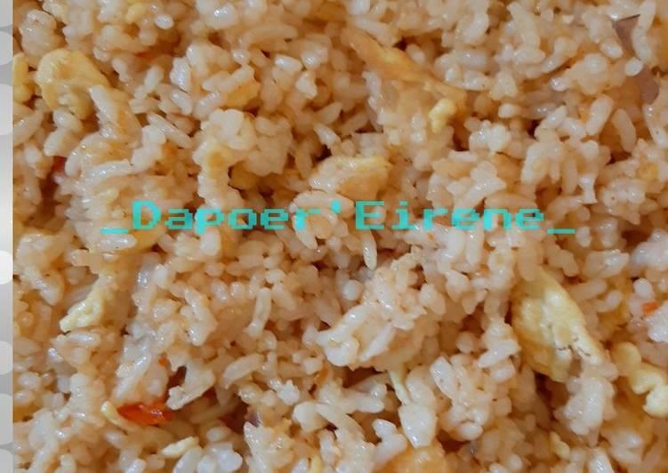 Resep Nasi Goreng Sederhana anak Kostan 😊 Paling Gampang