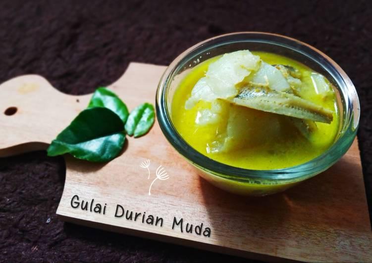 Resep Gulai Durian Muda Oleh Anah Mutaslimah Cookpad