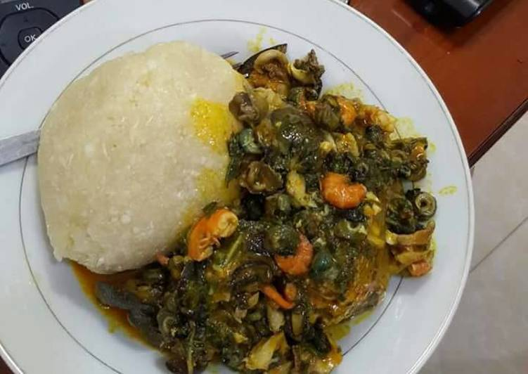 25 Minute Recipe of Royal Ugboghoro soup with snail and periwrinkle
